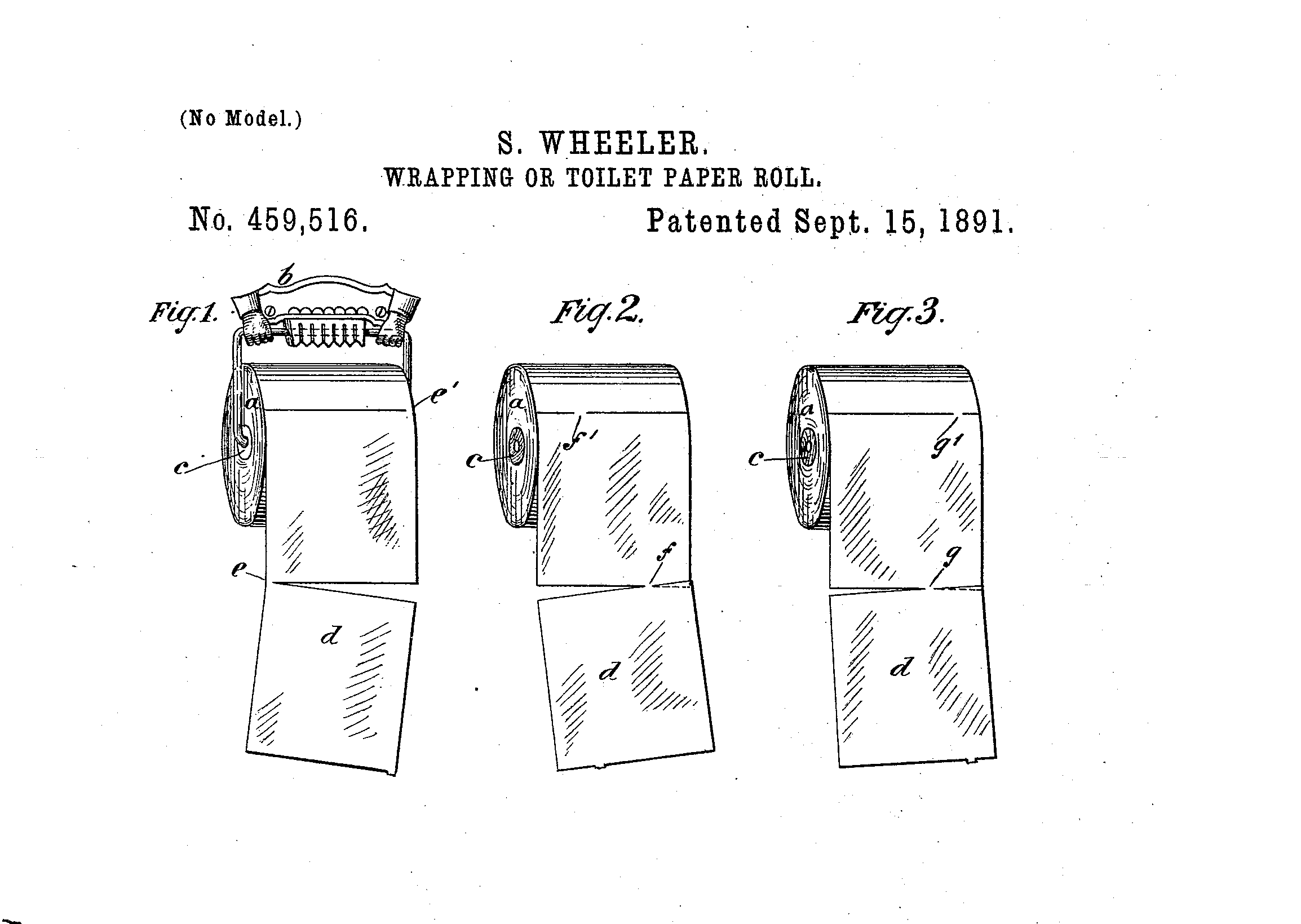 Original Patent For Perforated Toilet Paper On A Roll Solves Over Vs. Under Debate Once And For All