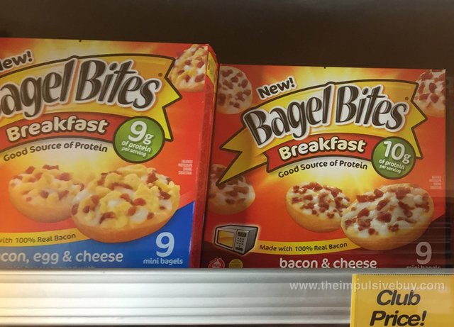 Bagel Bites Come Full Circle, Put Breakfast Pizzas On Tiny Bagels