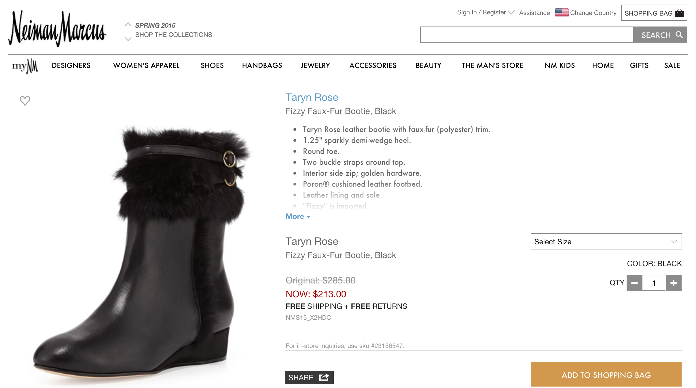 "Neiman Marcus Accused Of Continuing To Sell ""Faux Fur"" Products Containing Real Fur"