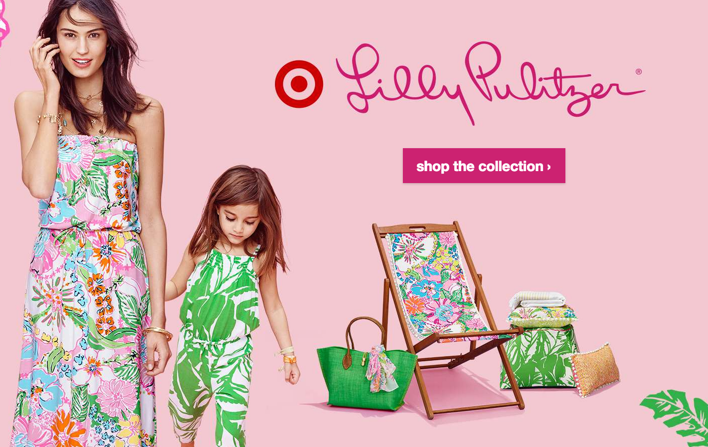2019 year for lady- Target partners with Lilly Pulitzer
