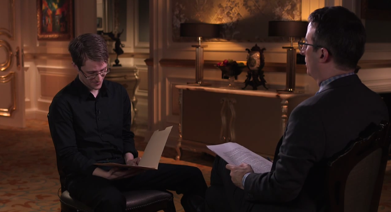 John Oliver Gets Edward Snowden To Explain Government Snooping In Terms Of Penis Photos