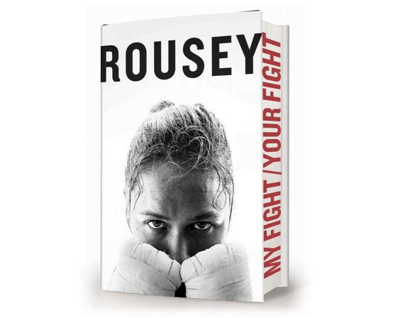 Walmart won't sell the upcoming memoir of Ronda Rousey in stores, but will make it available online.