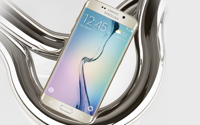 Video Shows Galaxy S6 Edge Will Bend; Samsung Says It's Misleading