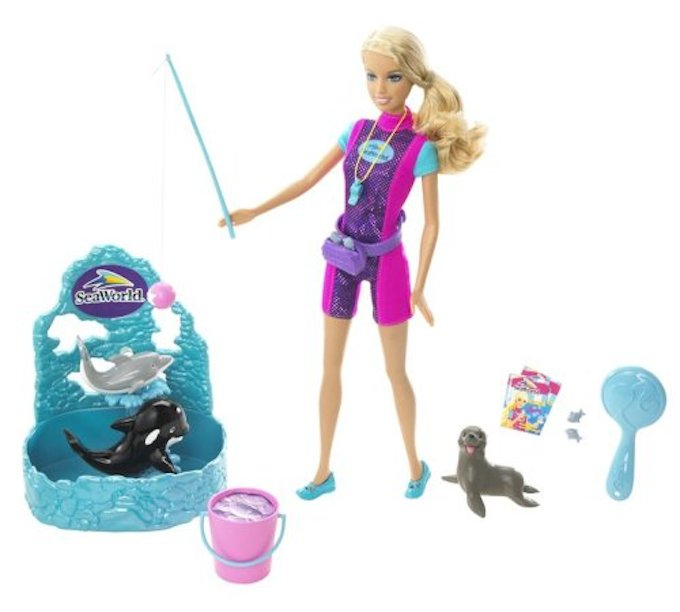 Mattel Discontinuing SeaWorld Trainer Barbie And All SeaWorld-Branded Merchandise
