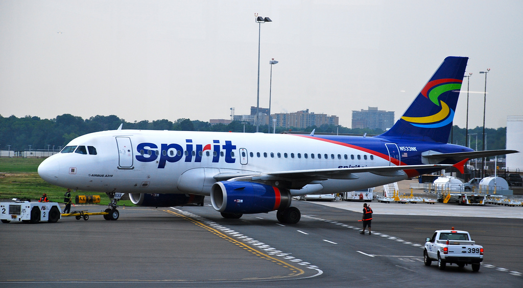 Officials: Spirit Airlines Flight Returned To Airport After Takeoff Due To Bomb Threat Onboard