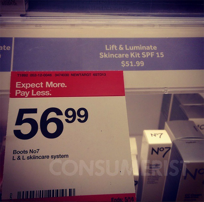 With Target Math, The Price Increases When The Sign Gets Bigger