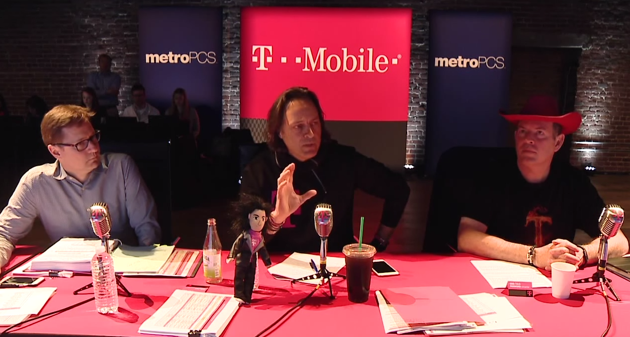 T-Mobile CEO Sees Cable/Wireless Mergers As Inevitable