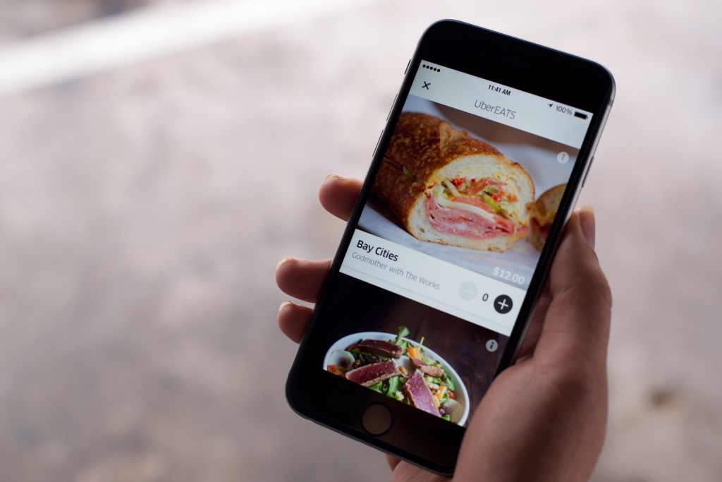 Uber Adds Surge Pricing To Food Delivery