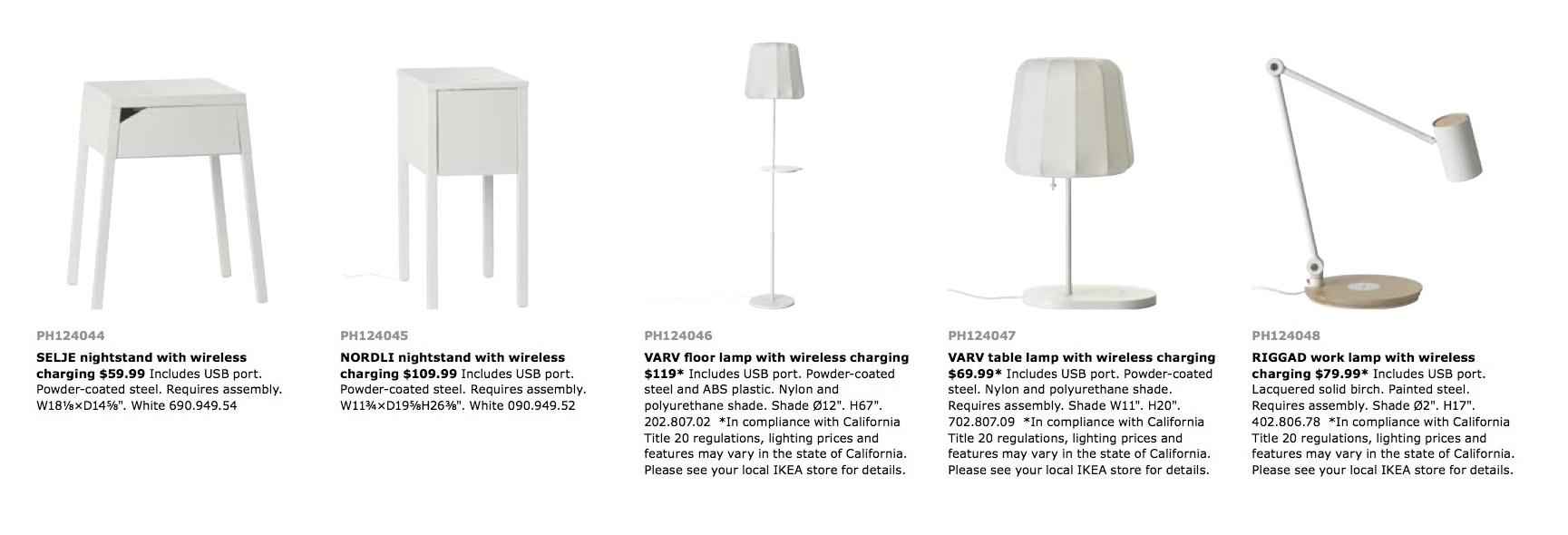 IKEA Releases Catalog Of Furniture That Will Charge Your Phone For You
