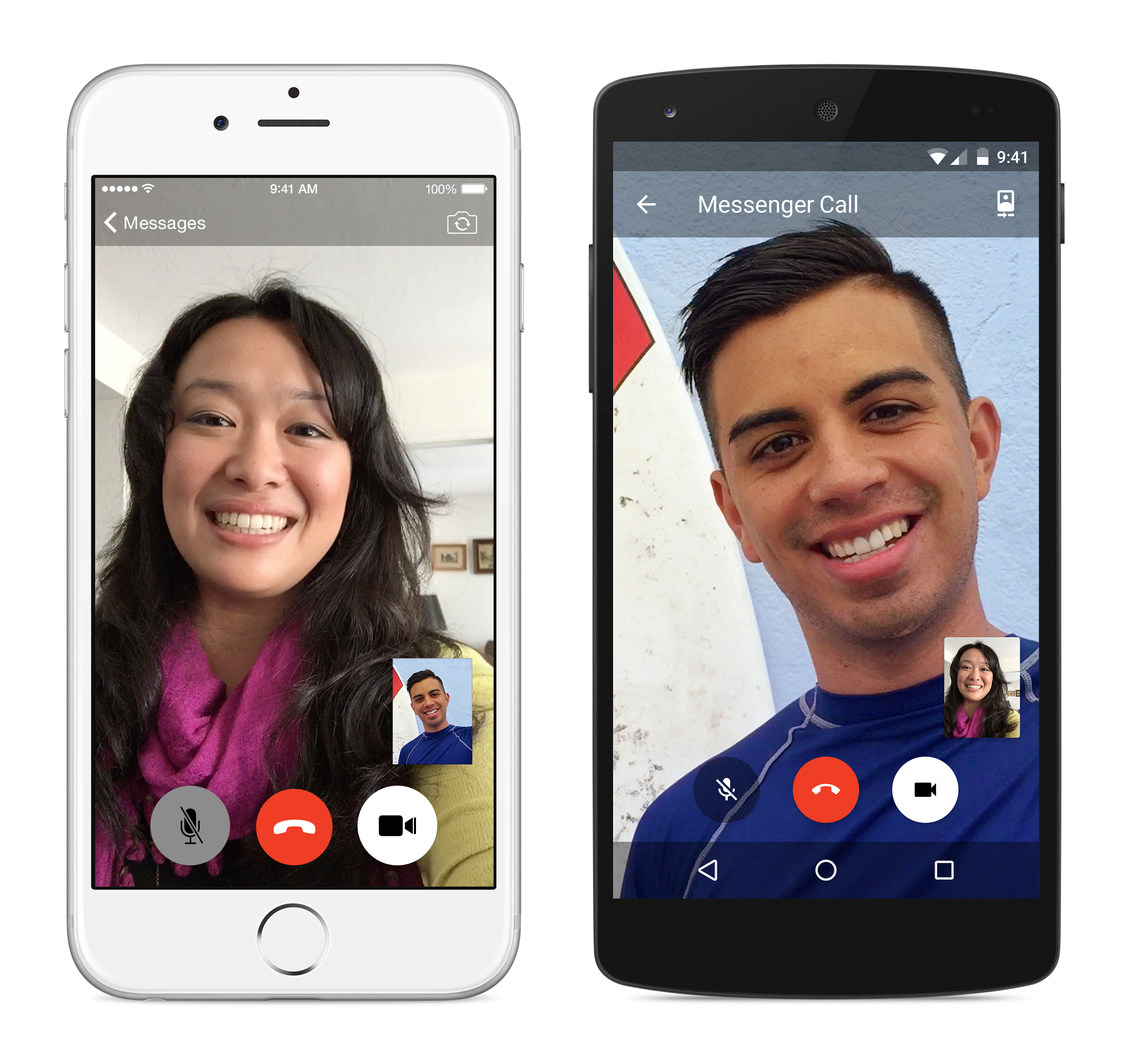 Facebook Messenger Adds Video Calling, Because Why Not