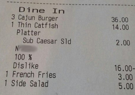 New Orleans Restaurant Says It Fired Server For Adding Racist Slur To Customer's Receipt