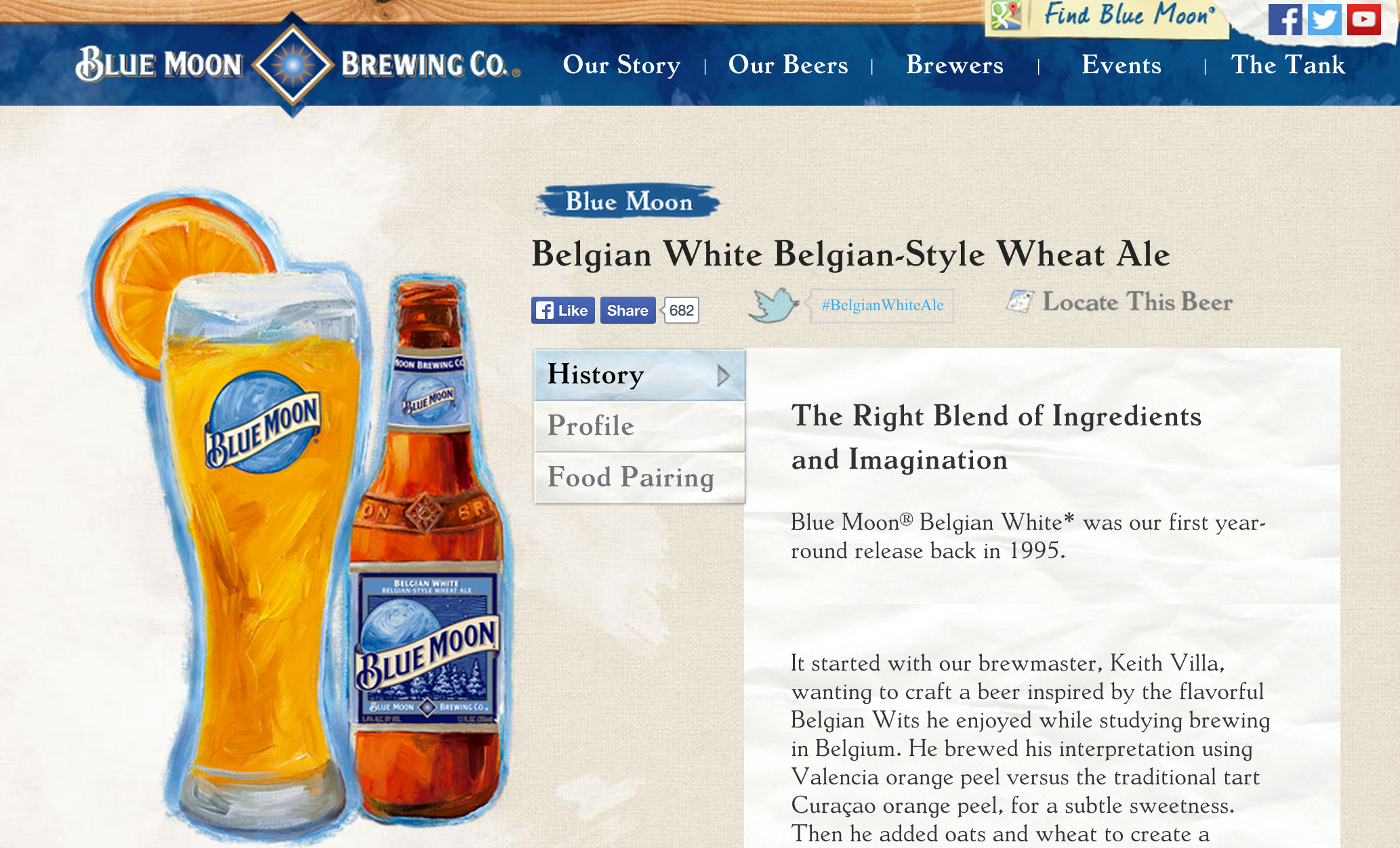 MillerCoors Sued For Selling Blue Moon As A Craft Beer