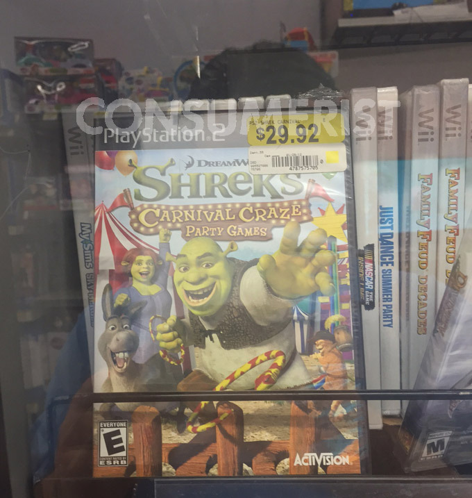 Raiders Of The Lost Walmart Excavate More Decade-Old Video Games