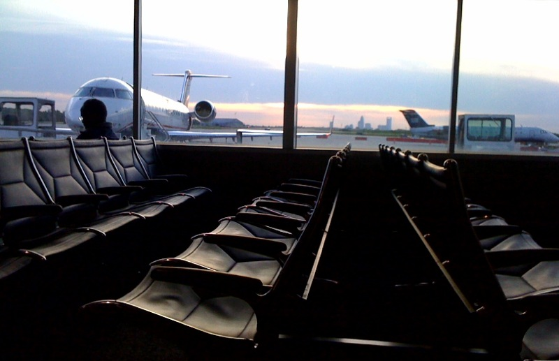 Man strips naked at Charlotte airport, upset about overbooked flight