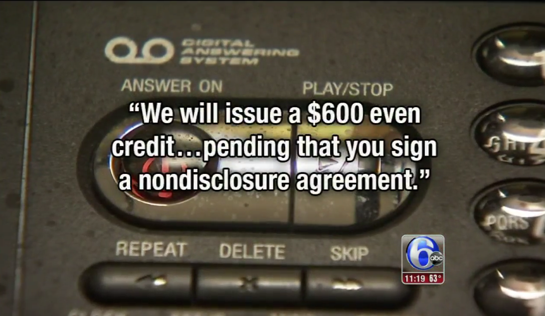 Comcast Says Customer Must Sign Non-Disclosure Agreement To Get $600 Refund