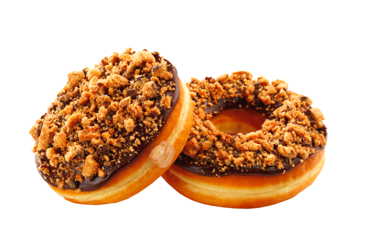 Dunkin' Donuts Debuts Chips Ahoy-Flavored Doughnuts