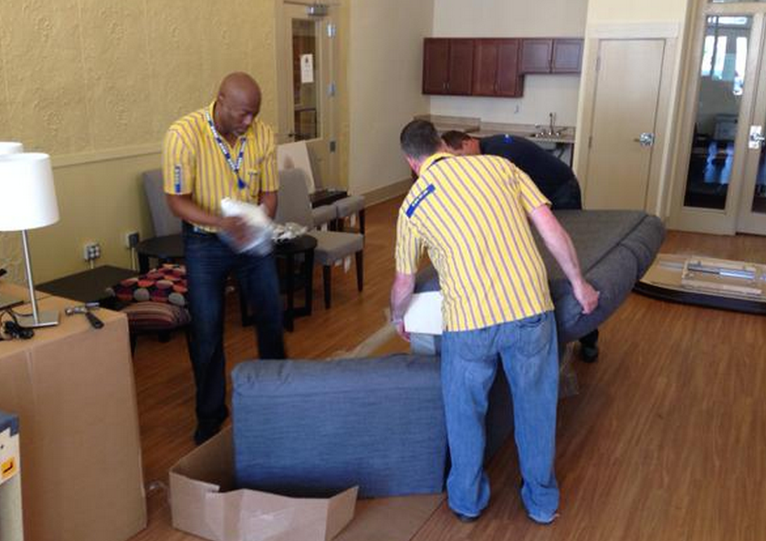 IKEA Helps Out Senior Center After Robbers Steal All The Furniture