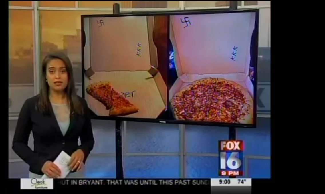 "Pizza Hut Employees Fired For Writing ""KKK"" & Drawing Swastika Inside Pizza Box"