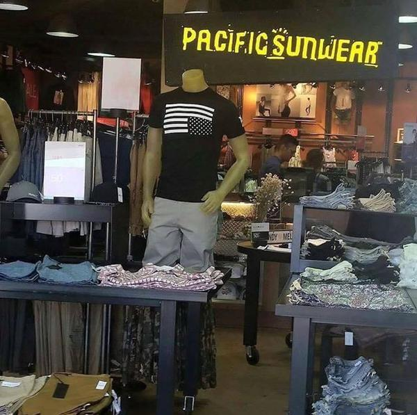 PacSun Pulls Upside-Down Flag T-Shirt From Stores, Online After Complaints