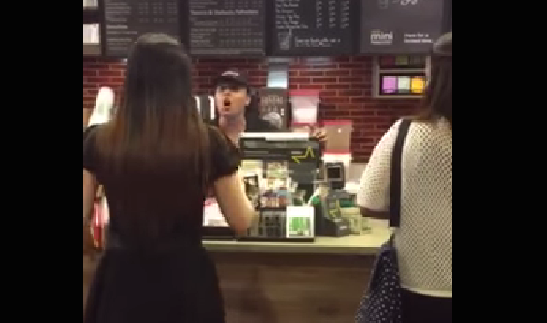 Starbucks Is Really Sorry That This Employee Flipped Out On Customer (And That It Was Caught On Video)