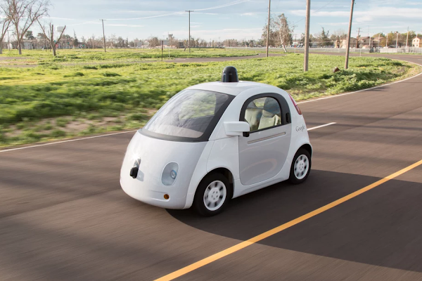 Self-Driving Cars From Rival Companies Have A Close Call In California Traffic