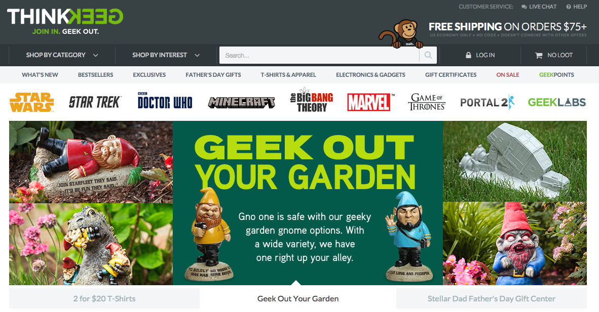 ThinkGeek Parent Geeknet Giving Hot Topic Three Days To Match Rival Suitor's Offer