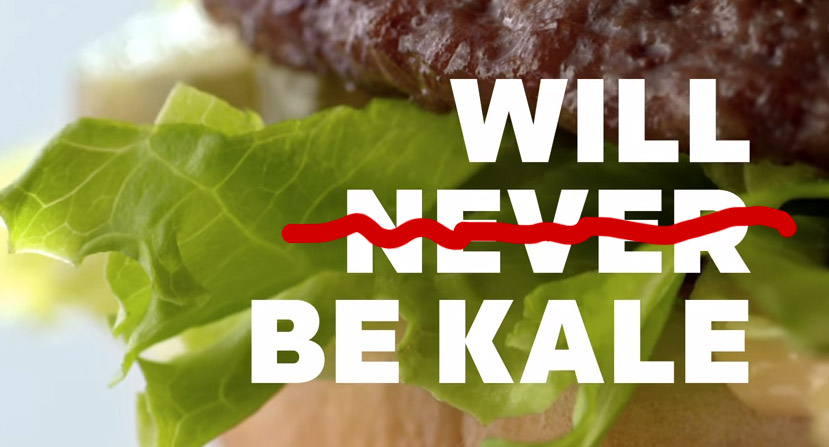 Tests Of Kale In McDonald's Restaurants Are Really Happening