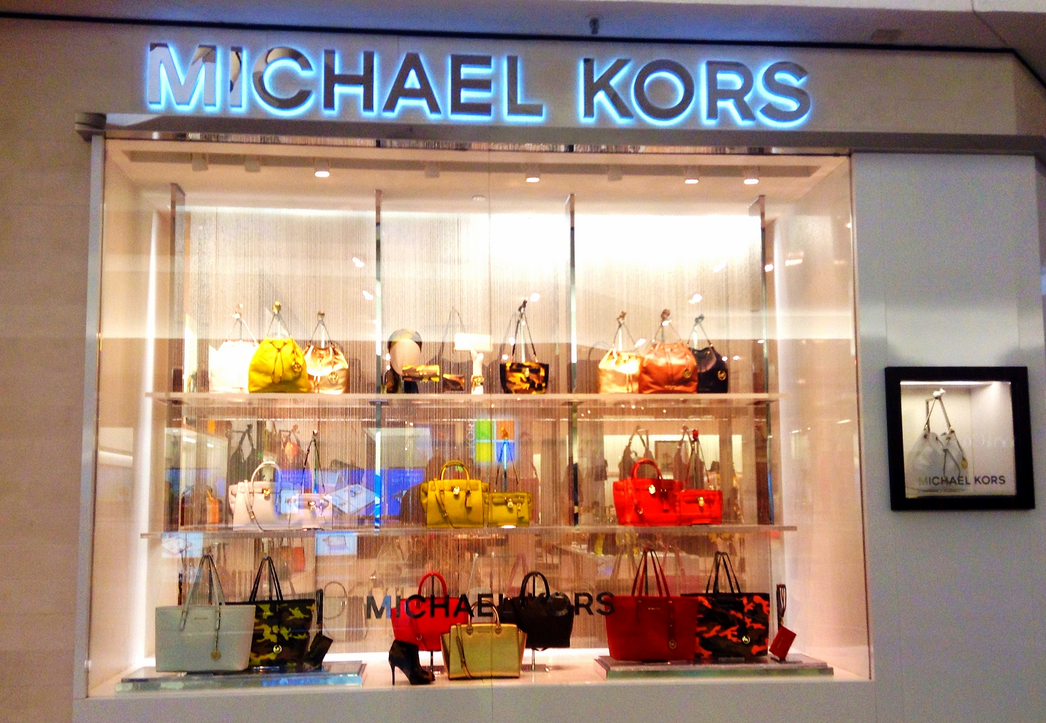 This is a regular Michael Kors store, where outlet items would never have been sold. (Mike Mozart)