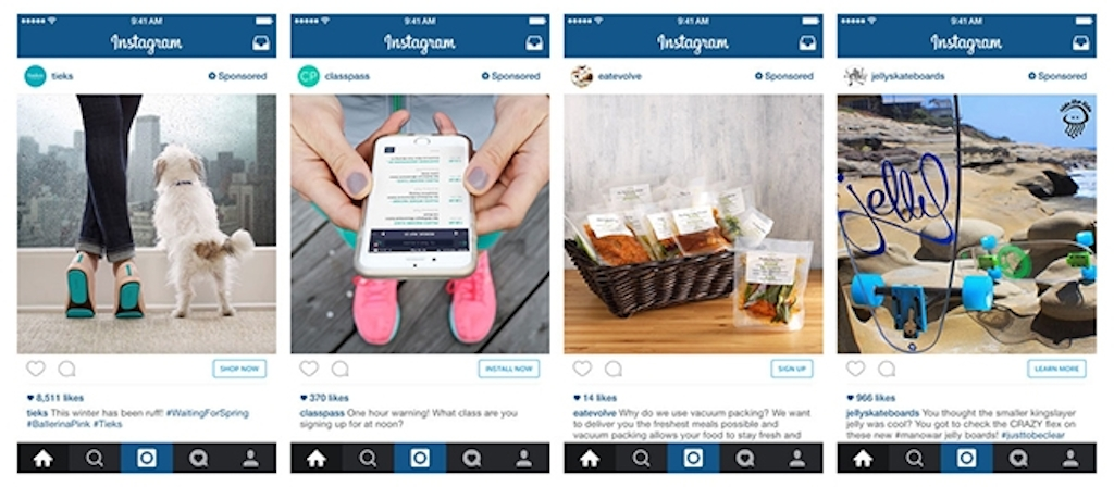 Advertisers can now add action buttons like shop now to instagram adshopnow ccuart Choice Image