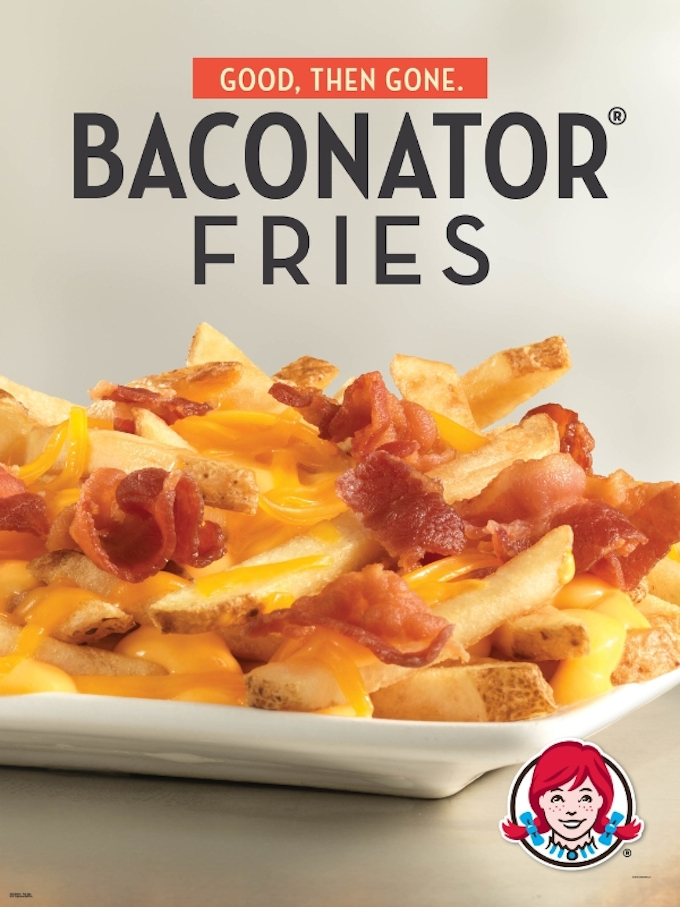 Not Content To Remain In The Burger Realm, Wendy's Expands The Baconator Brand To Fries