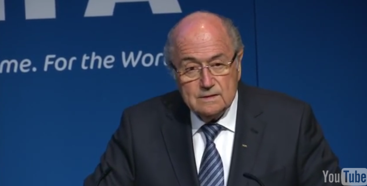 FIFA President Sepp Blatter (Eventually) Quitting Amid Corruption Probe