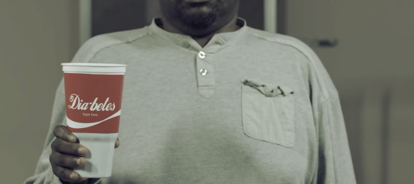 Health Group Remakes Iconic Coke Ad With People Suffering From Soda-Related Diseases