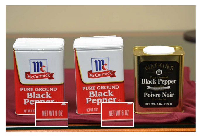 Watkins Sues McCormick Over Pepper, Makes Federal Case Out Of Grocery Shrink Ray
