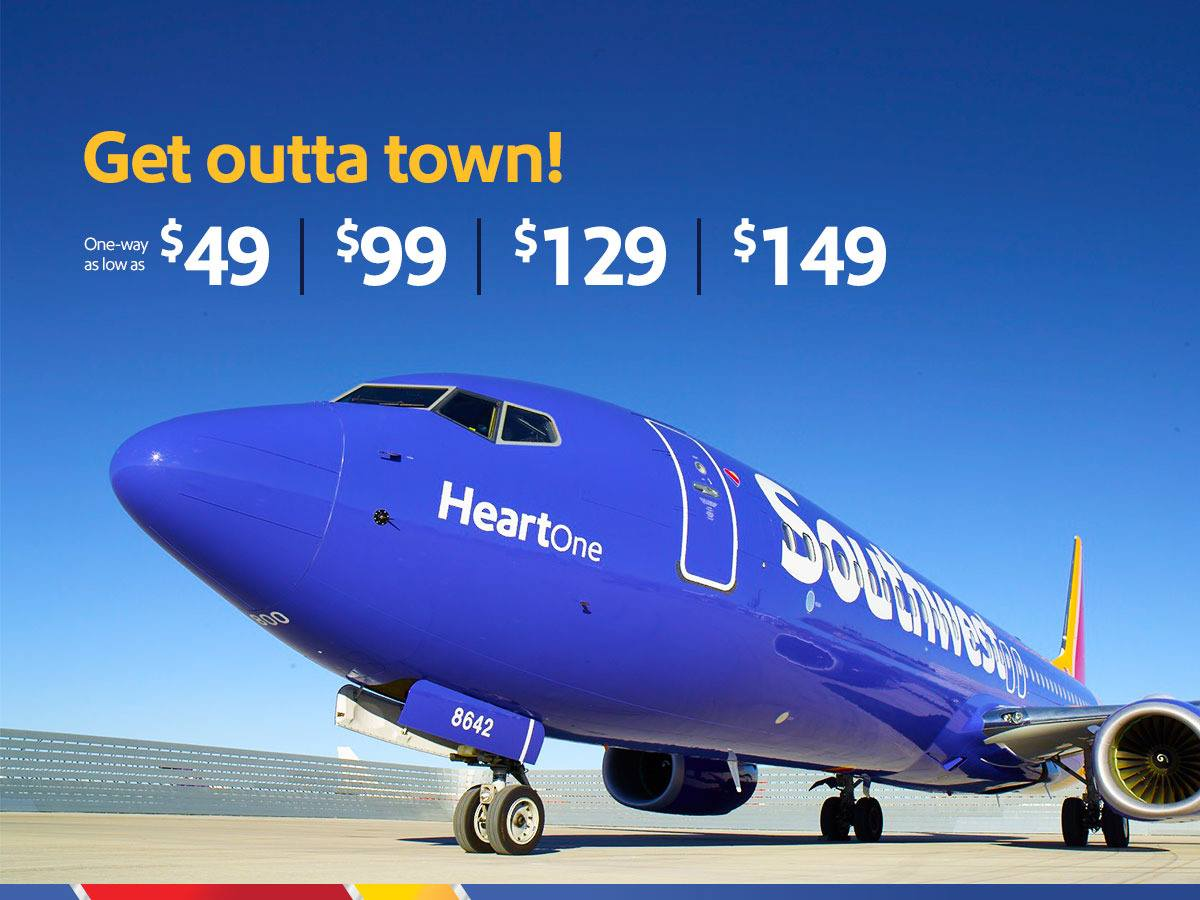 Southwest Airlines Extends Fare Sale Due To Ongoing Website Issues