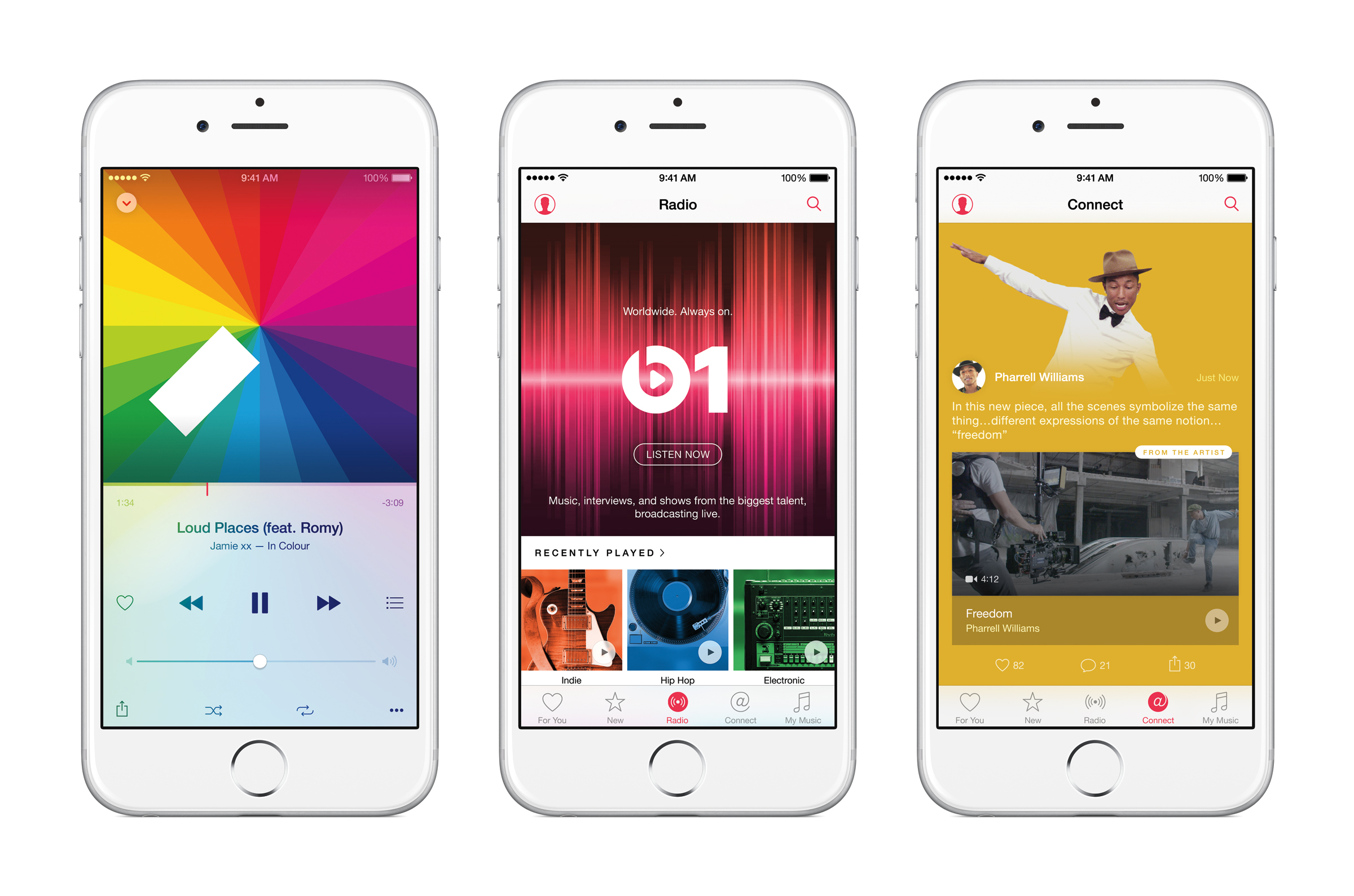 Apple Music Combines Streaming, Radio, Social Media For $10/Month