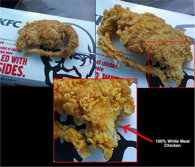 KFC Wants An Apology After Lab Tests Show Fried Rat Shape Is Actually Just Chicken