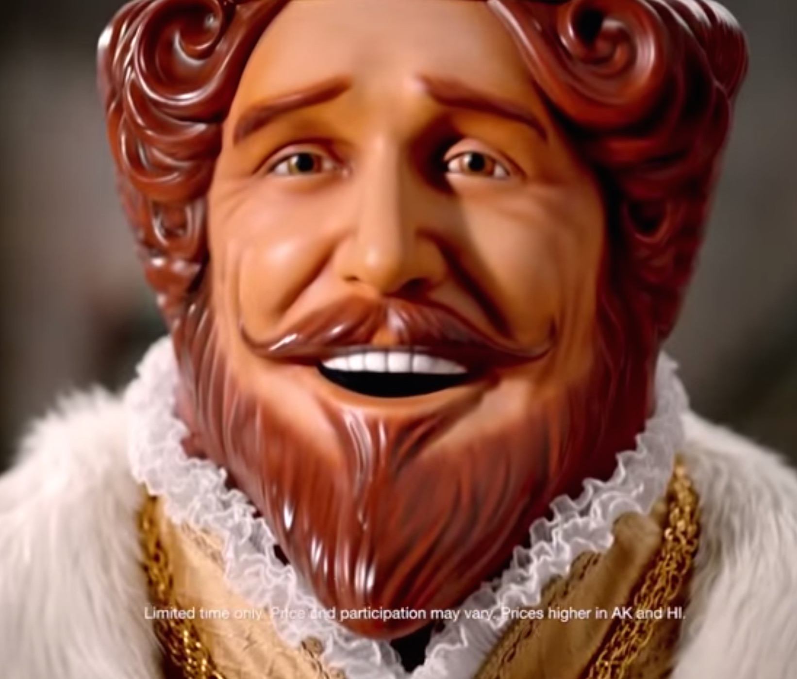 Burger King's Fantastically Creepy King Mascot Is Back