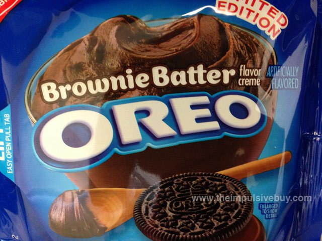 Here Come Brownie Batter Oreos