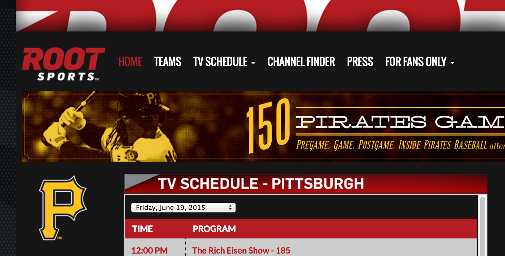 Root Sports Pittsburgh is one of several regional sports networks owned by DirecTV.