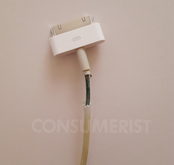 Posting Pics Of Frayed Apple Cords Won't Do Anything, But This Might