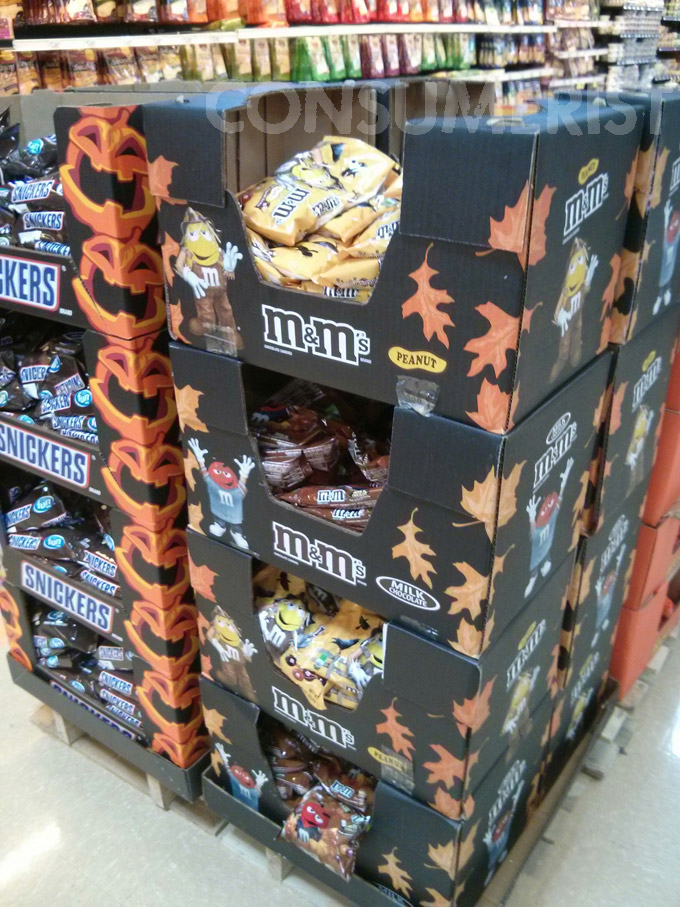 Oh Great, Here's Another Halloween Candy Display In July