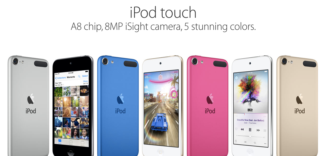 Apple Confirms It's Not Getting Rid Of The iPod, Finally Updates The Device