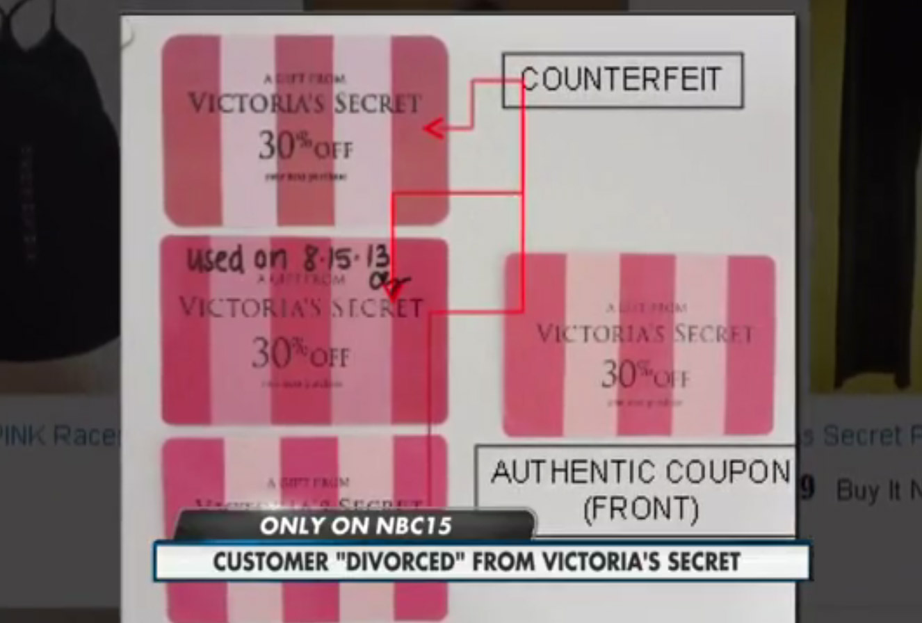 Victoria's Secret Serves Frequent Shopper With 'Divorce Papers'