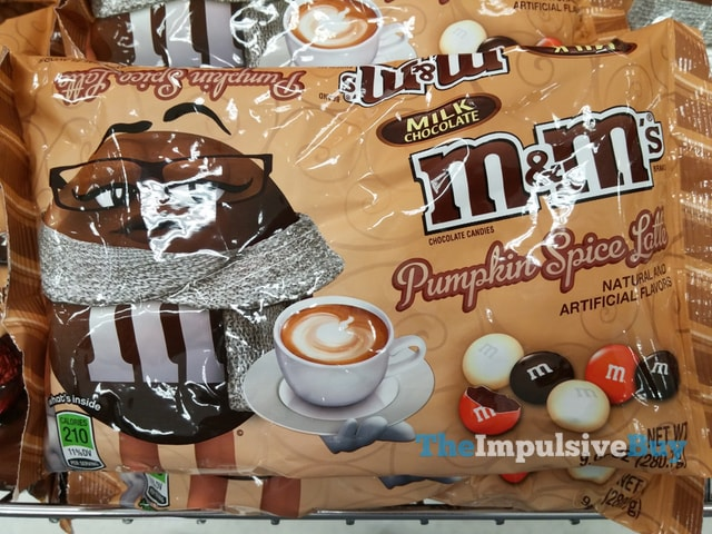 Pumpkin Spice Latte M&Ms Are A Thing, If You Were Wondering