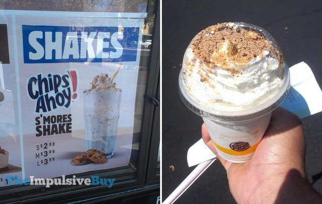 Burger King Joins Nabisco Brand Party, Tries Chips Ahoy Milkshake