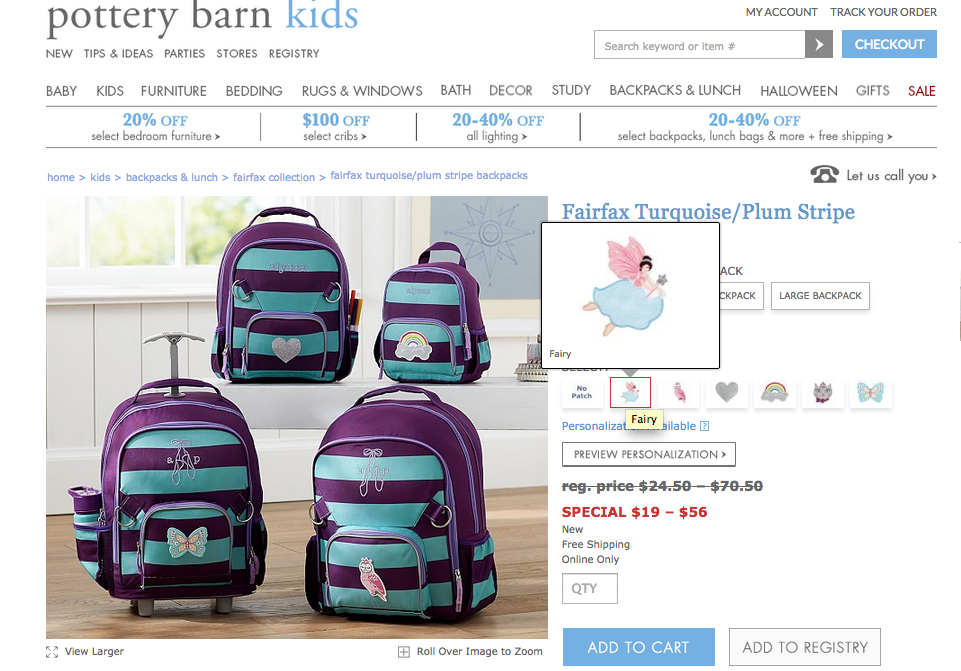 Pottery Barn Kids Doesn T Allow Shoppers To Put Boy Dragon Patch