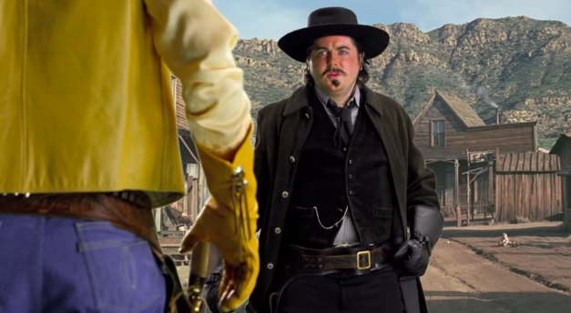 One Cablevision commercial depicts a sheriff telling Verizon that the town is done with its lies about WiFi.