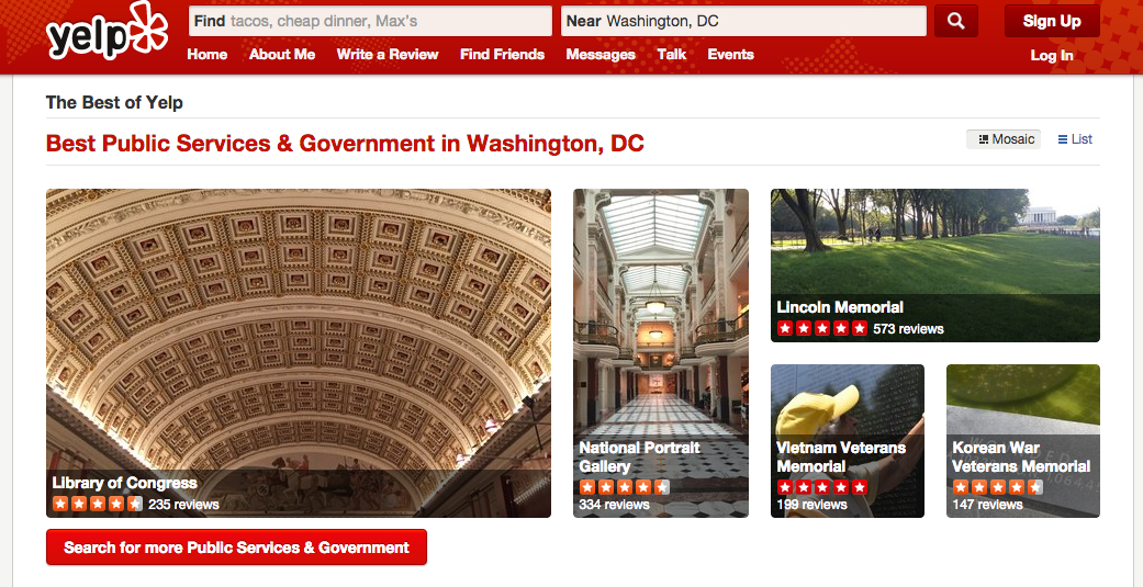 You Can Now Rate And Review U.S. Government Services On Yelp