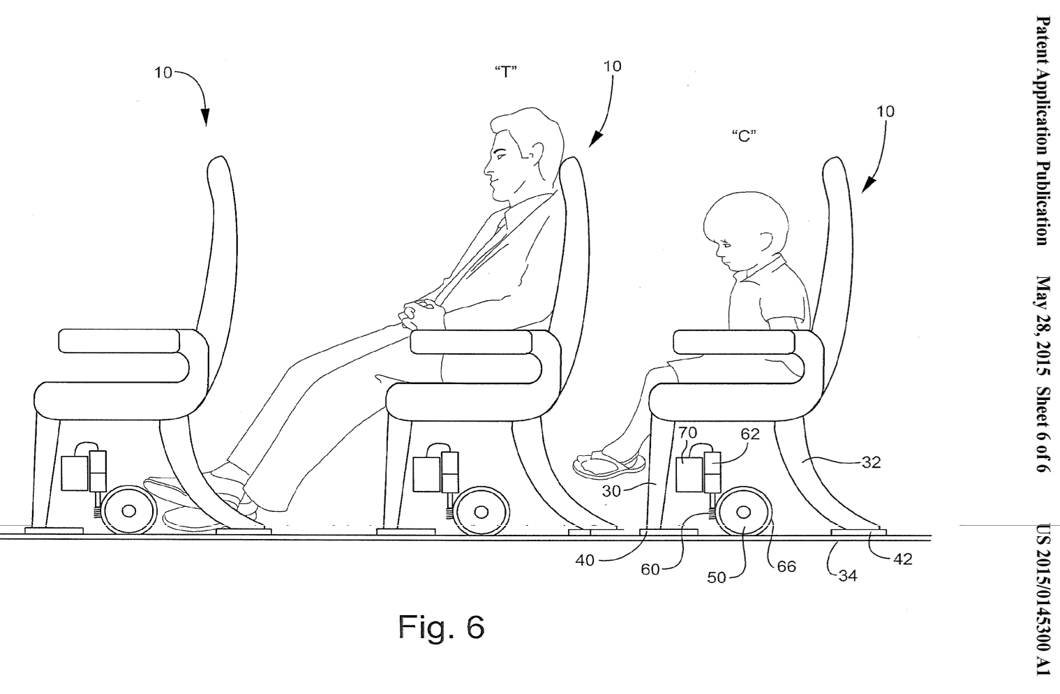 Sensational Patent Would Have Airlines Sort Passengers By Height Then Gmtry Best Dining Table And Chair Ideas Images Gmtryco