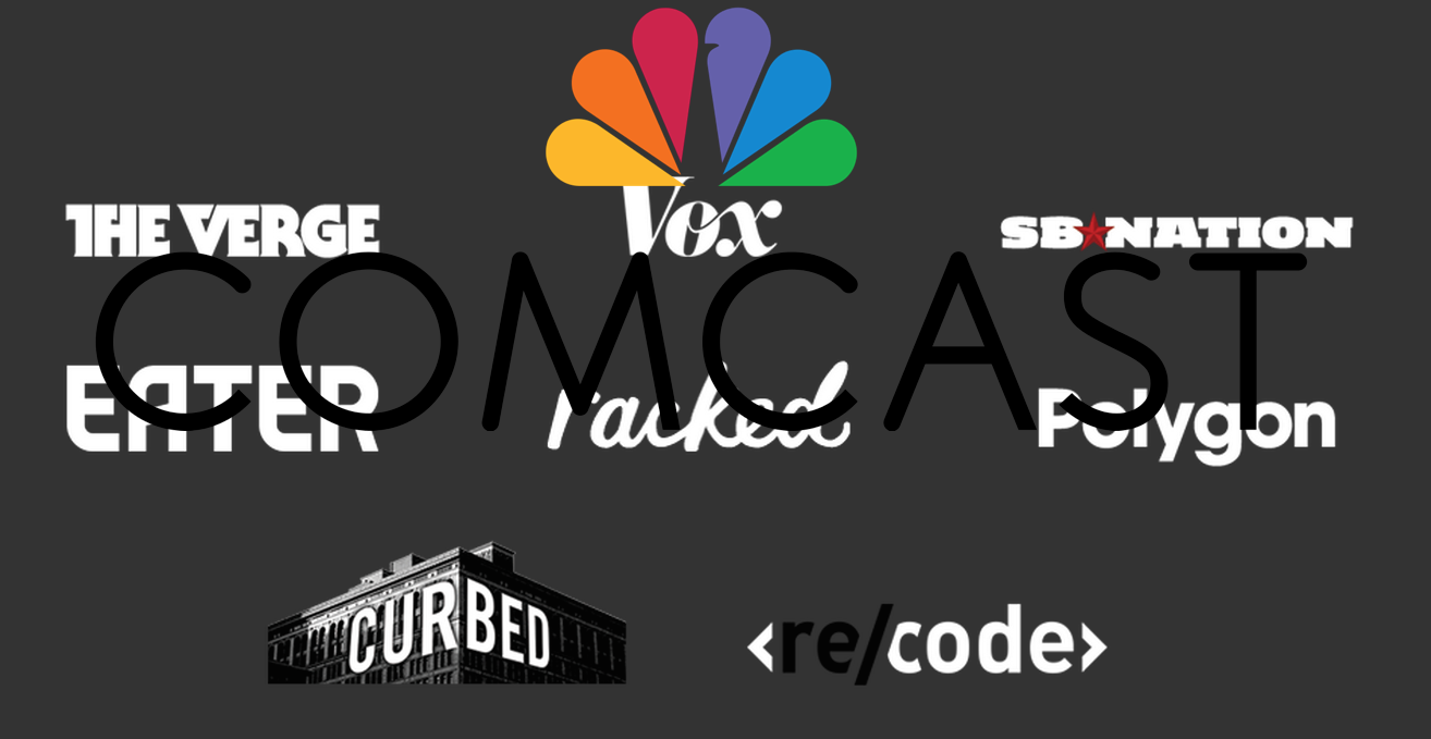 Comcast Begins Devouring Content Creators: Invests $200M In Vox Media